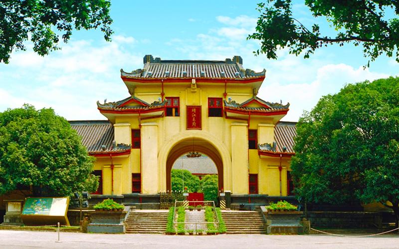 桂林独秀峰王城景区