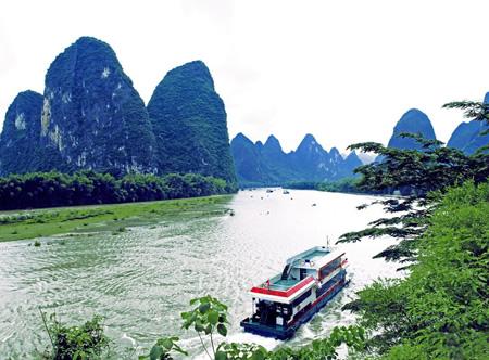 豪华游船游漓江经济1日线路