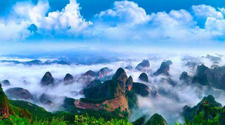 桂林四星船全景漓江+遇龙河+银子岩+世外桃源二日深度游